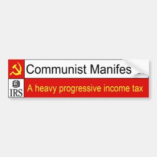 Communist IRS bumper sticker