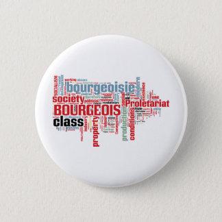 Communist Manifesto Word Cloud 6 Cm Round Badge
