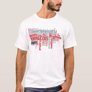 Communist Manifesto Word Cloud T-Shirt