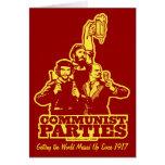 Communist Parties Card