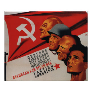 Communist Party Posters | Zazzle.co.uk