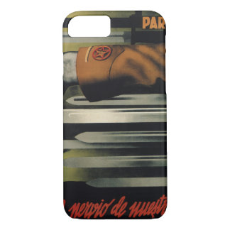 Communist party (1937)_Propaganda Poster iPhone 7 Case