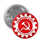 Communist Party Button