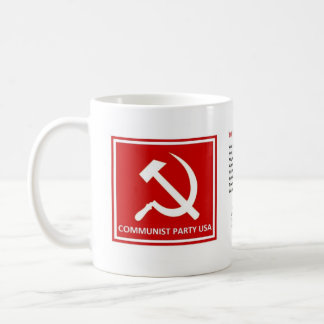 "Communist Party Mug with ""The Internationale"""