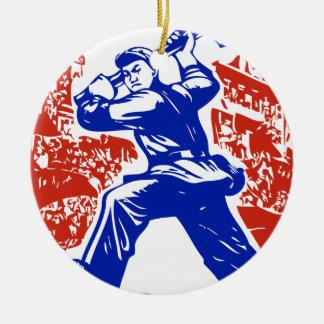 Communist Party of China Round Ceramic Decoration