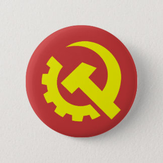 Communist Party USA Button
