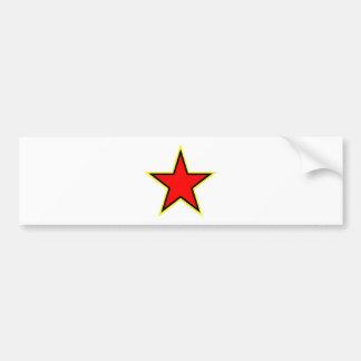 Communist Red Star Bumper Stickers