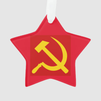 Communist Red Star Ornament