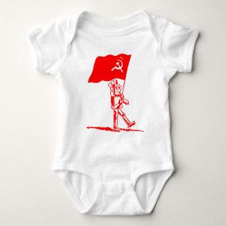 Communist Robot Baby Bodysuit
