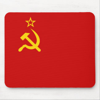 Communist Russia Flag USSR Mouse Pad