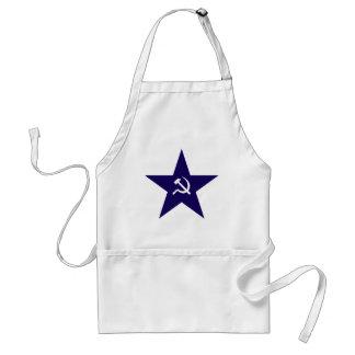 Communist Star Standard Apron