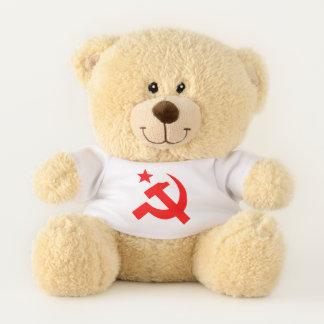 Communist Symbol Teddy Bear