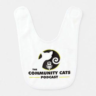 Community Cats Podcast Baby Bib