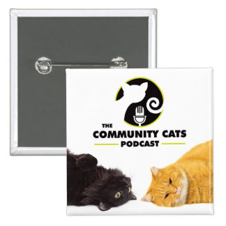 Community Cats Podcast Square Button