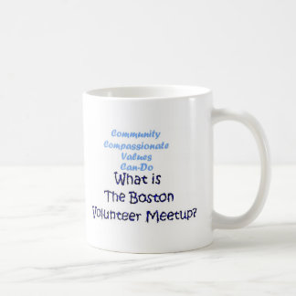 Community, Compassionate, Can-Do... Great value! Coffee Mug