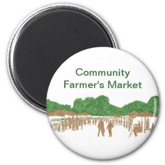 Community Farmer s Market Magnets