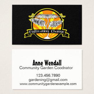 Community Gardener Business Card