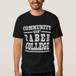 COMMUNITY OF FABER COLLEGE TEE SHIRT