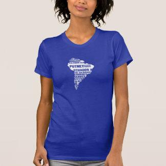 Community Service Ecuador in Multiple Colors T-Shirt