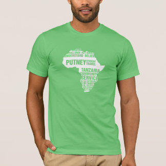 Community Service Tanzania in Multiple Colors T-Shirt