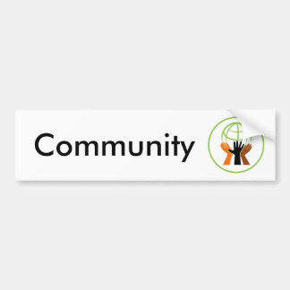 Community Village Circle Bumper Sticker