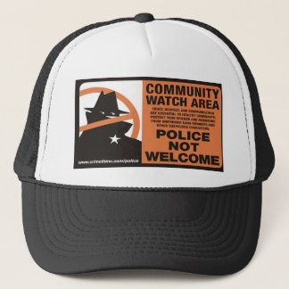 Community Watch Area Trucker Hat