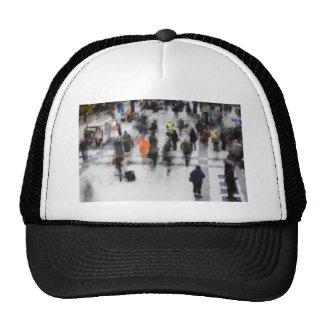 Commuter Art Abstract Cap
