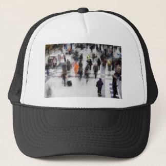 Commuter Art Abstract Trucker Hat
