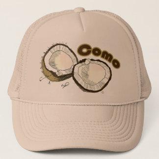 como coco trucker hat