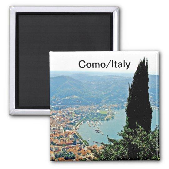 Como in Italy Souvenir Magnet
