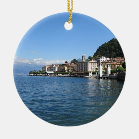 Como Lake 3 Christmas Ornament