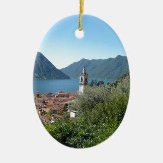 Como Lake Christmas Ornament