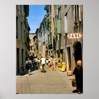 Como Shopping street 1959 Poster