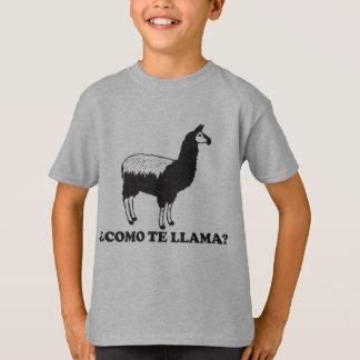 Como Te Llama T-Shirt