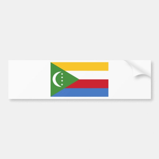 Comoros Bumper Sticker