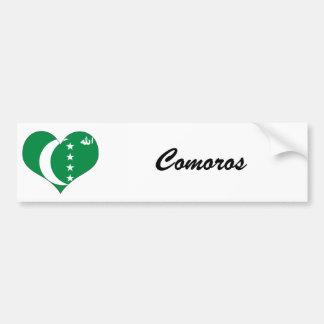 Comoros Bumper Sticker