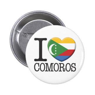 Comoros Pin