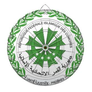 Comoros Coat of Arms Dart Boards