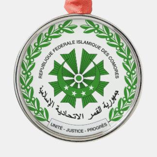 Comoros Coat of Arms Christmas Ornament