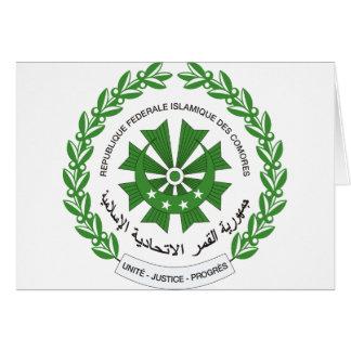 Comoros Coat of arms KM Card