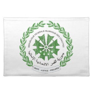 Comoros Coat Of Arms Placemats