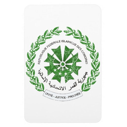 Comoros Coat Of Arms Magnets