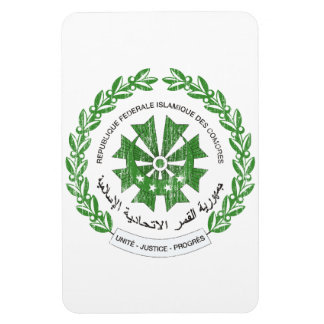 Comoros Coat Of Arms Rectangular Photo Magnet