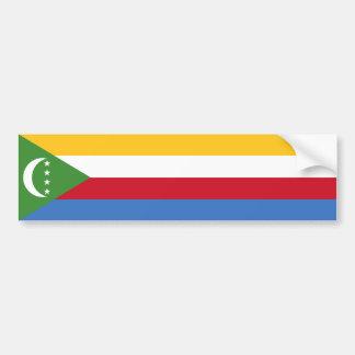 Comoros/Comoran Flag Bumper Sticker