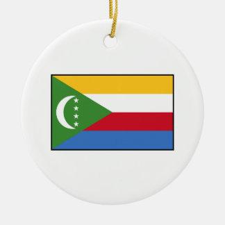 Comoros – Comoran Flag Christmas Tree Ornament