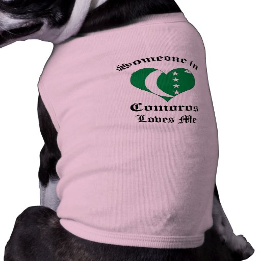 Comoros Pet Shirt