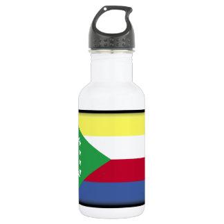 Comoros Flag 532 Ml Water Bottle