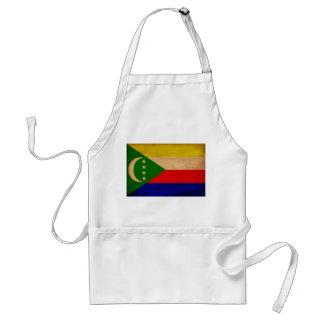 Comoros Flag Standard Apron