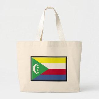 Comoros Flag Bag