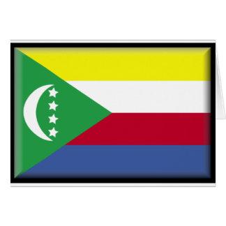 Comoros Flag Greeting Card